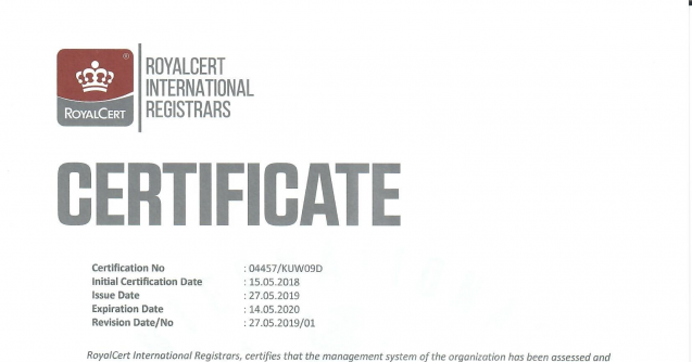 Update & Renew ISO Certifications for 9001,14001 & 18001